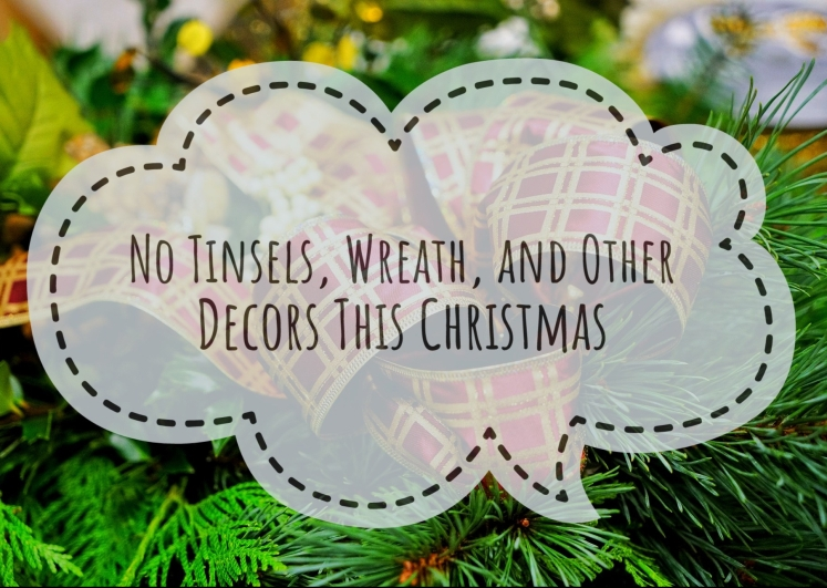 No amount of Christmas decor can express our happiness this Yuletide season.